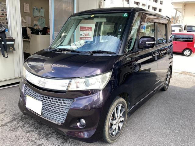 沖縄県の中古車ならパレットSW XS ユーザー買取車 パワースライドドア スマートキー ディスプレイオーディオ バックカメラ