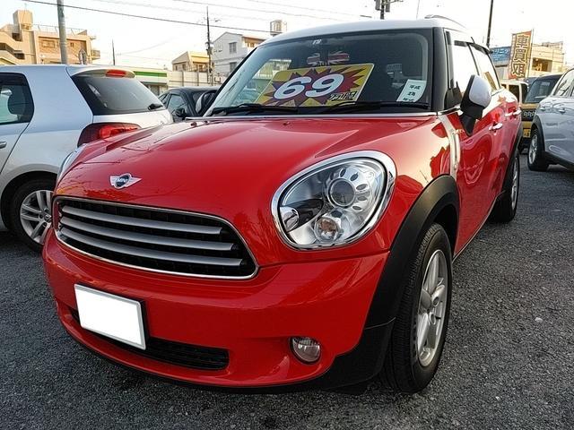沖縄県の中古車ならMINI クーパー クロスオーバー ユーザー買取車 社外ナビ ワンセグ バックカメラ