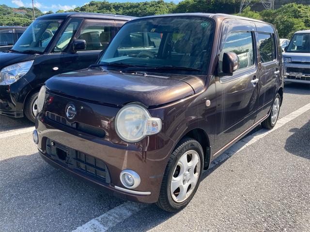 沖縄の中古車 ダイハツ ミラココア 車両価格 29万円 リ済込 2010(平成22)年 6.0万km ワイン