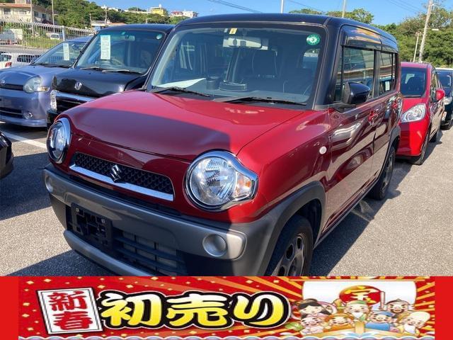 沖縄県の中古車ならハスラー G 5速マニュアル