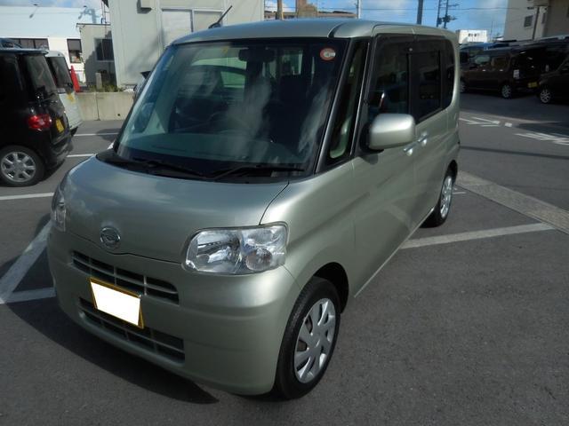 沖縄県の中古車ならタント X 走行3万キロ台 Bluetooth機能対応ナビ TV 片側パワースライドドア