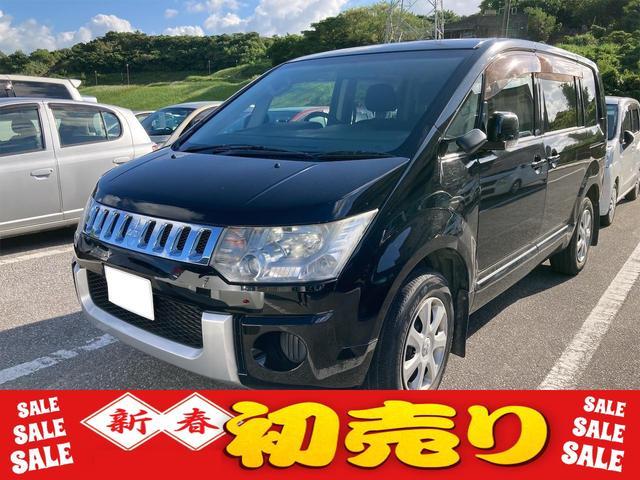沖縄県の中古車ならデリカD:5 M ユーザー買取車 パワースライドドア 社外ナビ TV