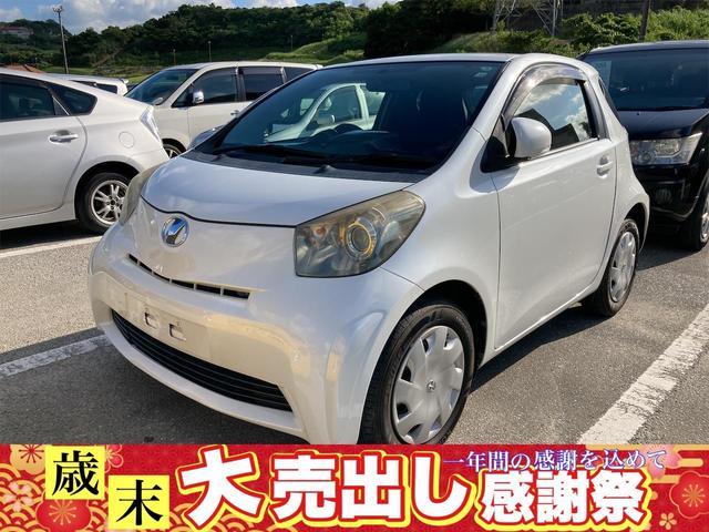 沖縄の中古車 トヨタ iQ 車両価格 49万円 リ済込 2009(平成21)年 4.3万km パールホワイト