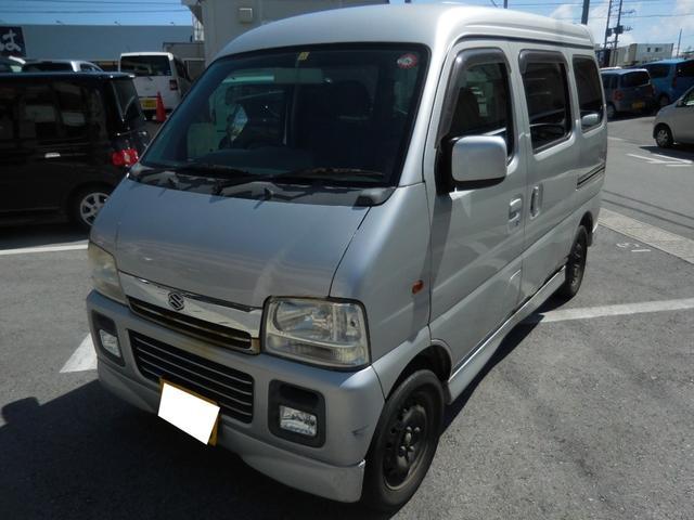 沖縄県沖縄市の中古車ならエブリイワゴン ジョイポップターボPZ ユーザー買取車