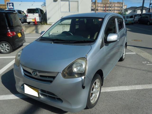 沖縄の中古車 ダイハツ ミライース 車両価格 35万円 リ済込 2012(平成24)年 3.7万km シルバー