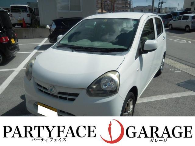 沖縄の中古車 ダイハツ ミライース 車両価格 35万円 リ済込 2013(平成25)年 2.1万km ホワイト