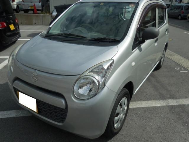 沖縄県中頭郡中城村の中古車ならアルト F ユーザー買取車