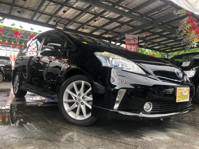 トヨタ Sツーリングセレクション保証2年付純正フリップダウンモニター