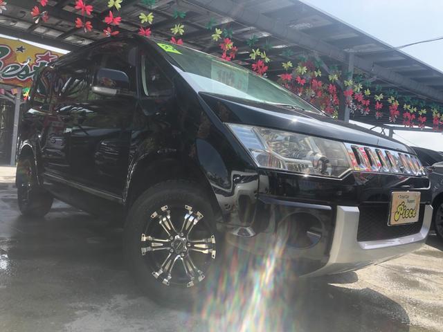 沖縄県の中古車ならデリカD:5 エクシードII 保証2年付 社外新品アルミ