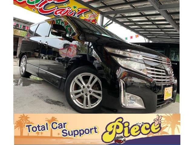 沖縄の中古車 日産 エルグランド 車両価格 125万円 リ済込 2010(平成22)年 10.7万km ブラックM