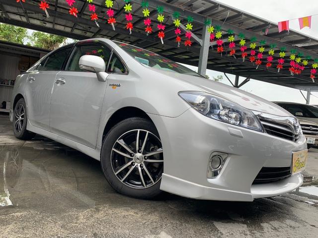 沖縄県の中古車ならSAI S LEDエディションエアロ保証2年付/社外アルミ/