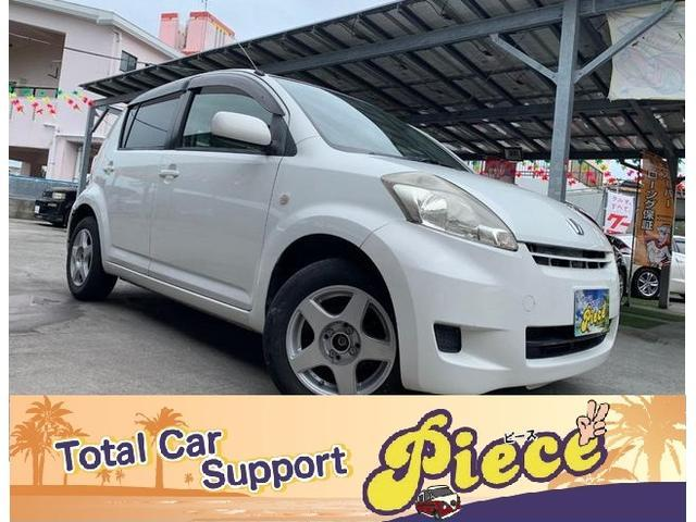 うるま市 Total Car Support Piece(ピース) トヨタ パッソ  ホワイト 13.1万km 2007(平成19)年