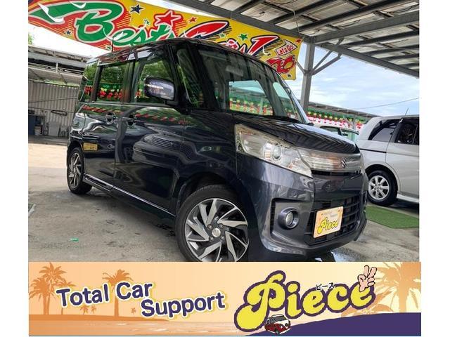 沖縄県うるま市の中古車ならスペーシアカスタム TS保証2年付/両側パワースライド/SDナビTV