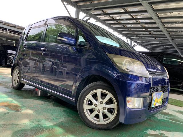 沖縄の中古車 ダイハツ ムーヴ 車両価格 18万円 リ済込 2007(平成19)年 12.2万km ブルー