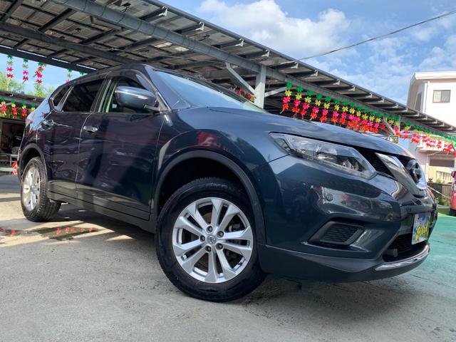 沖縄県うるま市の中古車ならエクストレイル 20X エマージェンシーブレーキパッケージ ワンオーナー車/純正ナビTV/Bluetooth/バックカメラ/LEDヘッドライト/保証2年付