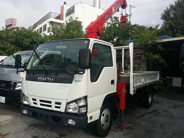沖縄の中古車 いすゞ エルフトラック 車両価格 219万円 リ済込 2005(平成17)年 20.0万km ホワイト