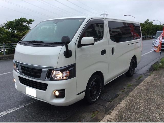 沖縄の中古車 日産 NV350キャラバンバン 車両価格 159万円 リ済込 2016(平成28)年 10.4万km パール