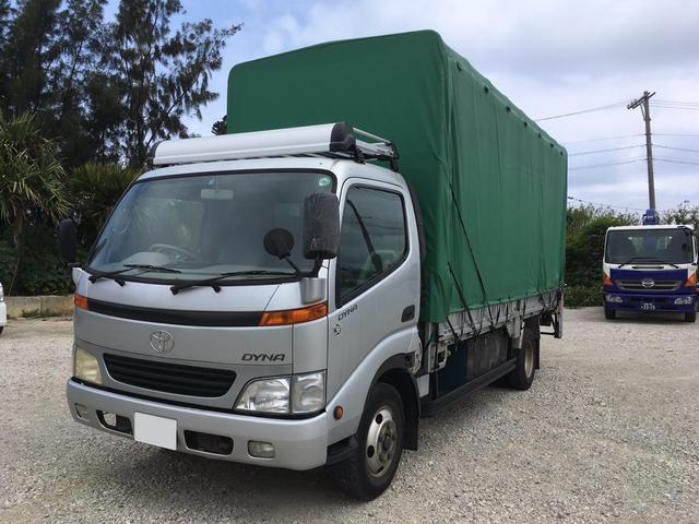 沖縄県宜野湾市の中古車ならダイナトラック 超ロング 2t 幌パワーゲート MT