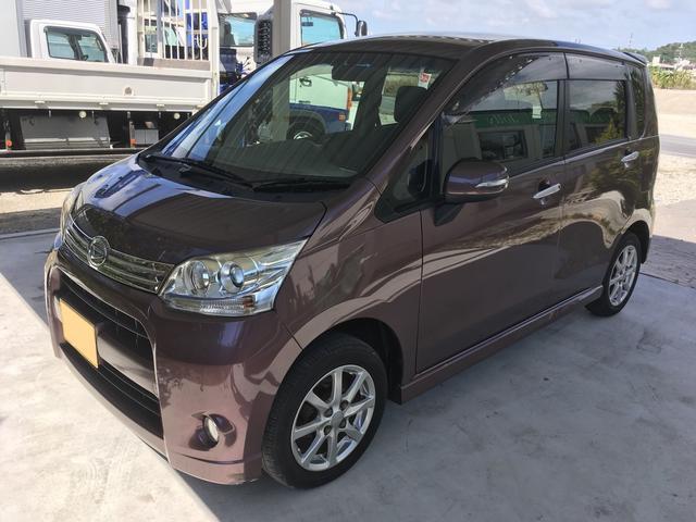 沖縄の中古車 ダイハツ ムーヴ 車両価格 69万円 リ済別 平成23年 8.5万km パープル