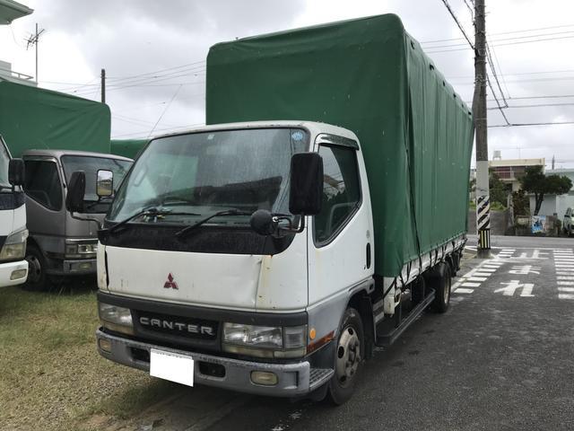 沖縄県の中古車ならキャンター 2t幌 パワーゲート MT