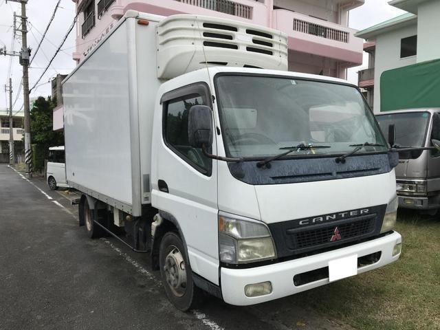 沖縄県の中古車ならキャンター 低温冷凍車 パワーゲート AT