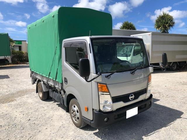 沖縄県宜野湾市の中古車ならアトラストラック 1.5t 幌 パワーゲート ETC ガソリン