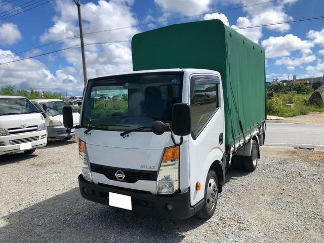 沖縄の中古車 日産 アトラストラック 車両価格 164万円 リ済別 2013(平成25)年 23.0万km ホワイト