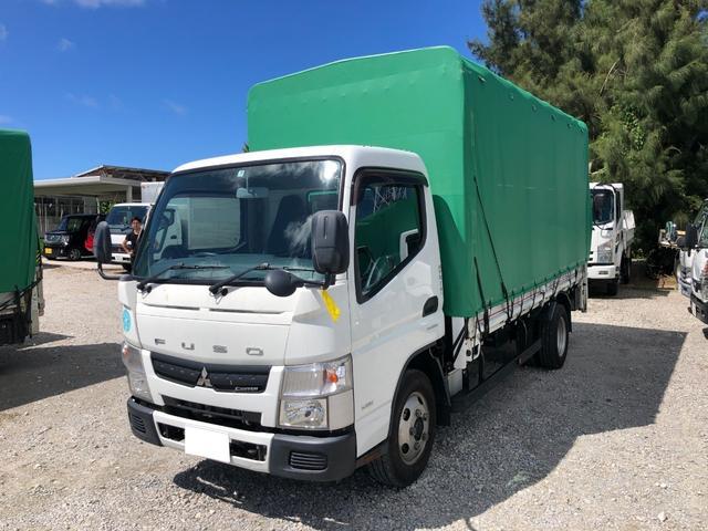 沖縄県宜野湾市の中古車ならキャンター 2tロング パワーゲート ナビ AT ディーゼル