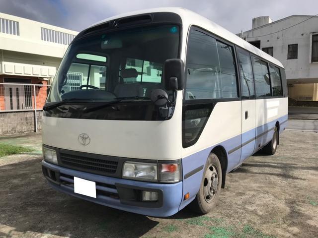 沖縄の中古車 トヨタ コースター 車両価格 245万円 リ済別 2006(平成18)年 21.6万km ホワイト