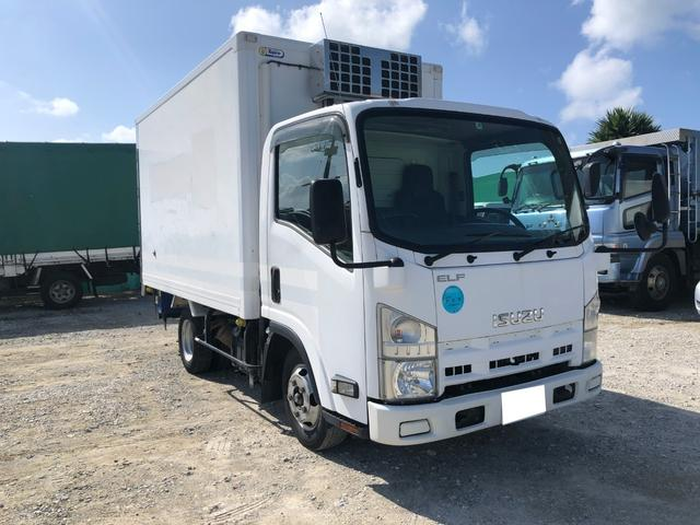 沖縄県の中古車ならエルフトラック 2室式冷凍車 スタンバイ機能 AT ディーゼル