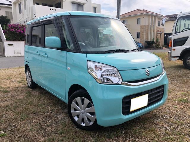 沖縄県の中古車ならスペーシア X 2年間走行無制限保証 両側パワースライドドア ナビTV