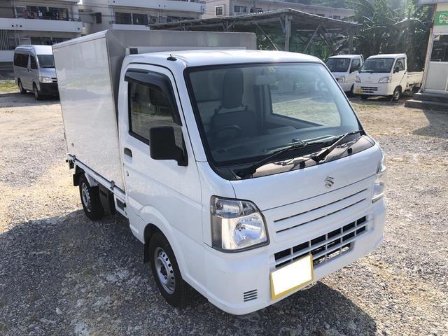 沖縄県宜野湾市の中古車ならキャリイトラック 冷蔵冷凍車 マイナス20度まで設定可能 ETC AT