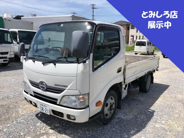 沖縄県宜野湾市の中古車ならデュトロ ETC・ディーゼル・積載2トン