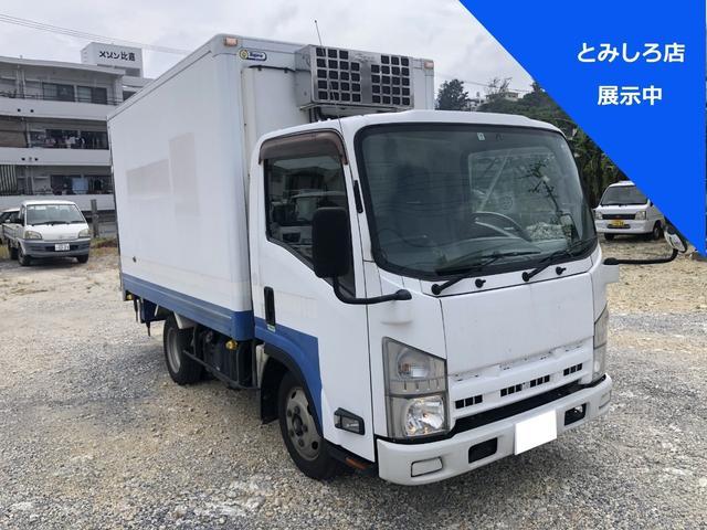 沖縄県宜野湾市の中古車ならエルフトラック  2t冷凍車 二室式 設定温度-30℃まで可能 スタンバイ機能装備 AT ディーゼル車