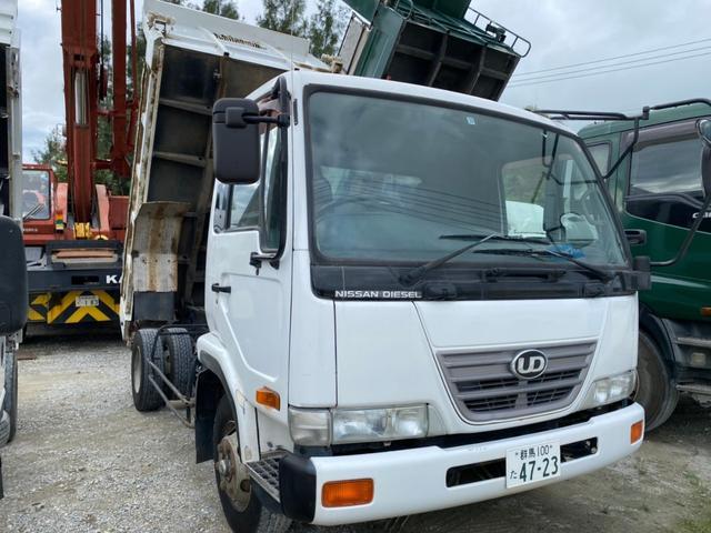 沖縄の中古車 UDトラックス コンドル 車両価格 220万円 リ済込 2004(平成16)年 14.0万km ホワイト