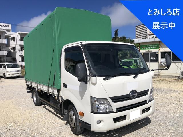 沖縄県宜野湾市の中古車ならデュトロ  パワーゲート・幌トラック・最大積載量1750Kg・AT・軽油