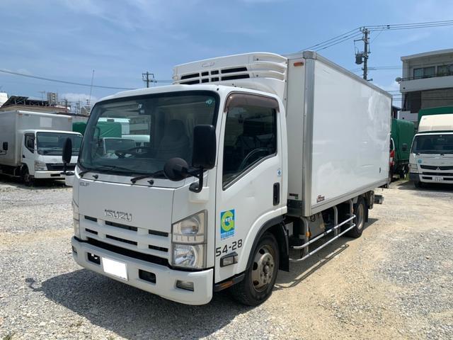 沖縄県の中古車ならエルフトラック  低温冷凍車(-30℃設定可能)・格納式パワーゲート
