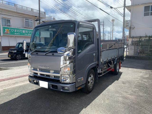 沖縄の中古車 いすゞ エルフトラック 車両価格 199万円 リ済別 2007(平成19)年 18.0万km シルバー