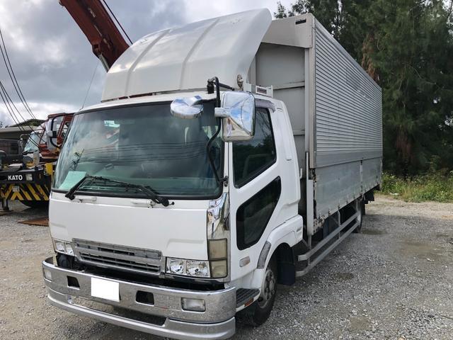 沖縄県の中古車ならファイター  ウイング・パワーゲート・バックカメラ・軽油・MT