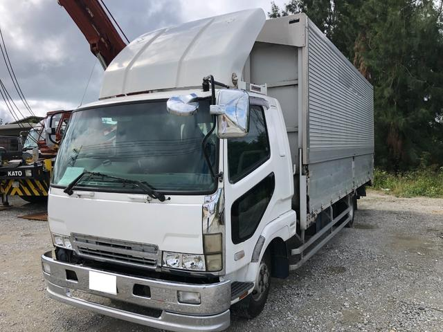 沖縄県宜野湾市の中古車ならファイター  ウイング・パワーゲート・バックカメラ・軽油・MT