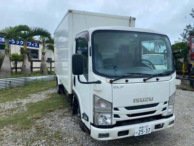 沖縄の中古車 いすゞ エルフトラック 車両価格 99万円 リ済込 2016(平成28)年 49.9万km ホワイト