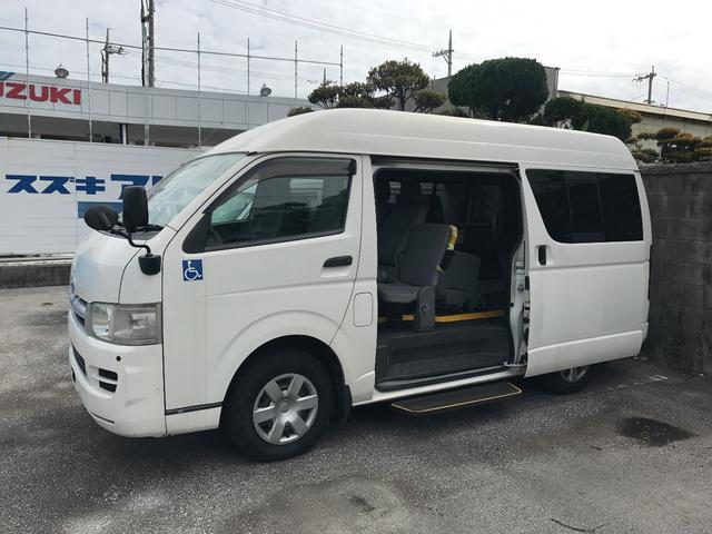 沖縄県の中古車ならハイエースバン 車いすリフト車