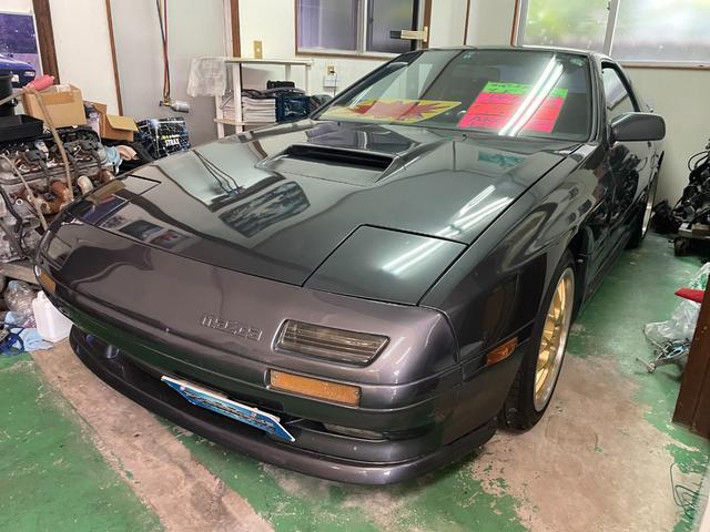 沖縄の中古車 マツダ サバンナRX-7 車両価格 229万円 リ済別 1989(平成1)年 10.3万km グレー