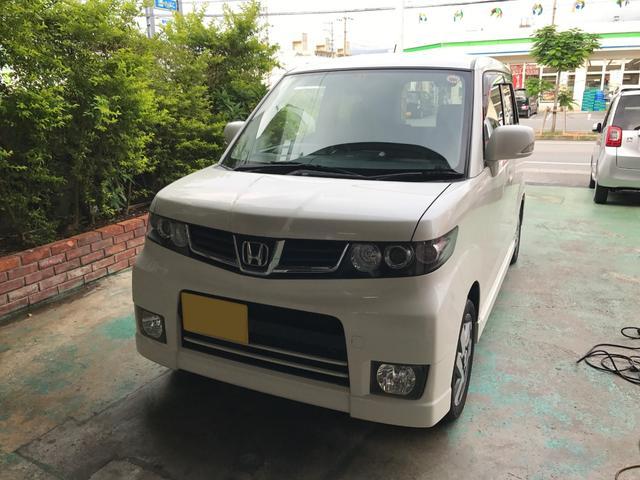 沖縄県の中古車ならゼストスパーク G ナビ