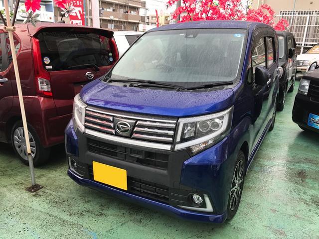 沖縄県の中古車ならムーヴ カスタム X ハイパーSAII ナビTV