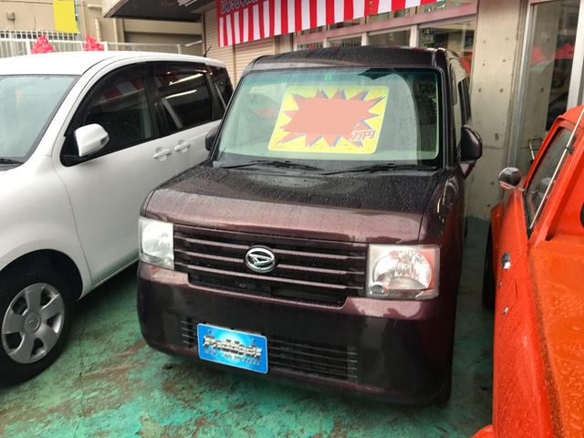 沖縄の中古車 ダイハツ ムーヴコンテ 車両価格 48万円 リ済込 平成22年 7.0万km プラムブラウンクリスタルマイカ