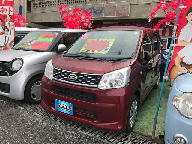 沖縄の中古車 ダイハツ ムーヴ 車両価格 59万円 リ済込 平成28年 9.8万km ワイン