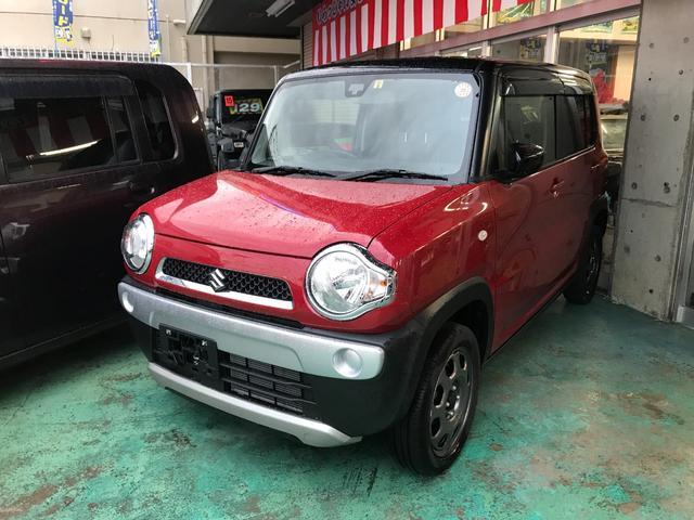 沖縄の中古車 スズキ ハスラー 車両価格 107万円 リ済別 平成29年 0.4万km レッドII