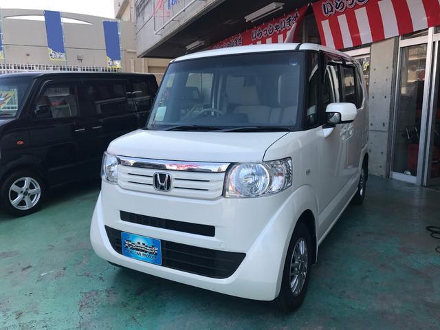 沖縄の中古車 ホンダ N-BOX 車両価格 79万円 リ済込 平成24年 8.7万km プレミアムホワイトパールII