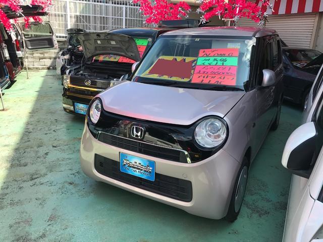 沖縄の中古車 ホンダ N-ONE 車両価格 64万円 リ済込 2013(平成25)年 4.6万km チェリーシェルピンクメタリックII